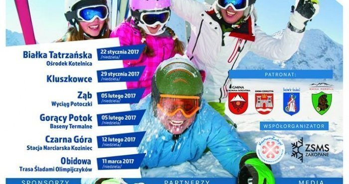 Bezpiecznie na nartach - cykl 6 imprez