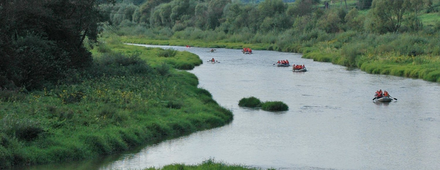 San River Valley canoe and rafting trips