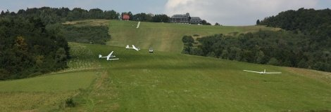 Gliders in Bezmiechowa