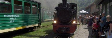 Bieszczady forest train