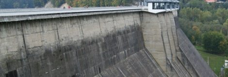 The Solina Lake dam