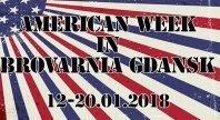 2018-01-03 - AMERICAN WEEK W BROVARNI GDAŃSK