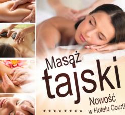 Zapraszamy Na masaż tajski
