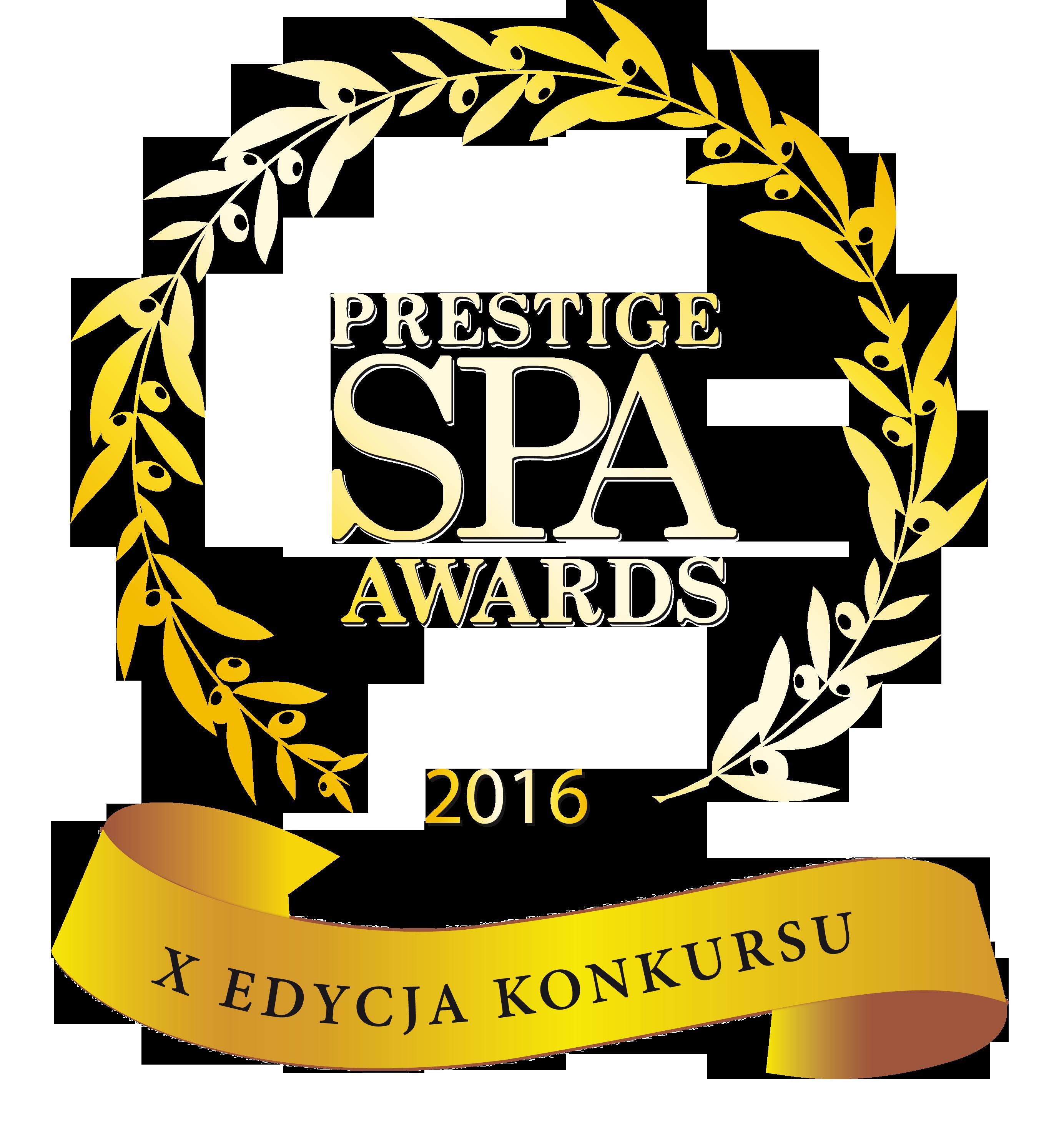 Spa Prestiga Awards 2016 - Najlepsze Destination SPA w Polsce