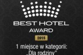Best Hotel Award 2015 - I miejsce w kategorii