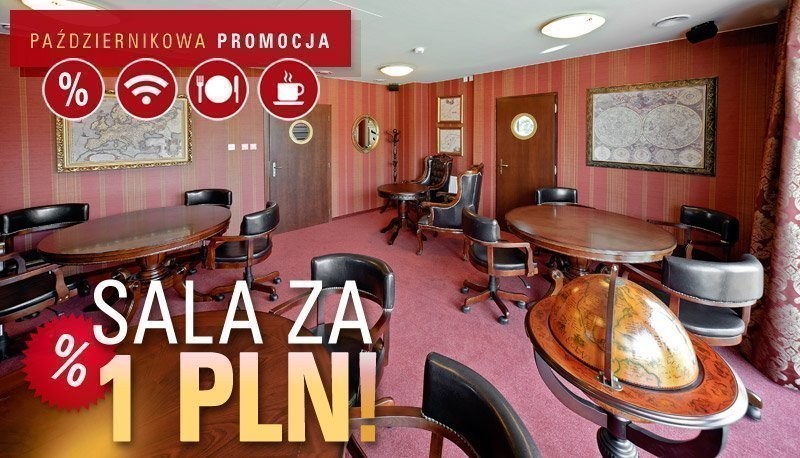 Sala konferencyjna za 1 PLN!