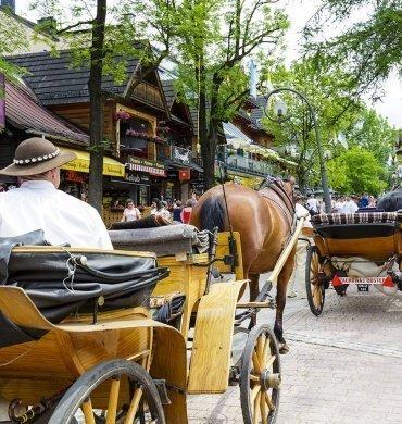 A HORSE-CARRIAGE RIDE AROUND ZAKOPANE