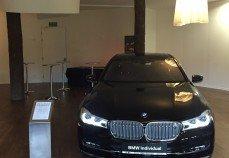 Prezentacja BMW Individual serii 7.