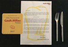 HOT_elarnia**** ponownie w gronie wyróżnionych w  Żółtym Przewodniku Gault&Millau Polska 2017