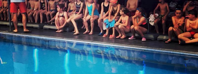 Jubileuszowe X zawody pływackie w SPA_larni