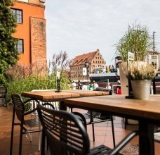Zafishowani - restauracja w Gdańsku - ogródek letni