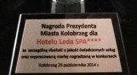 2014-10-30 - Kolejne wyróżnienie dla Hotelu Leda SPA****