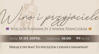 2/14/2019 - Wieczór poznawczy z winem francuskim