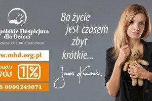 Podaruj czas... przekaż 1% podatku Małopolskiemu Hospicjum dla Dzieci!