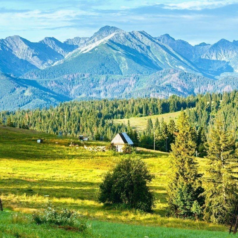 Idealne miejsce w Tatrach