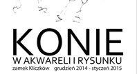 2015-01-09 - Wystawa prac o tematyce konnej w Zamku Kliczków