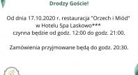 2020-10-18 - Restauracja czynna do godz. 21:00