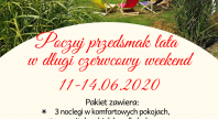 2020-05-09 - Pakiet na długi weekend 11-14.06 w Hotelu Spa Laskowo***