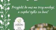 2018-04-21 - Majówka w Hotelu SPA Laskowo