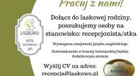 2018-09-24 - Hotel SPA Laskowo zatrudni recepcjonistę/kę