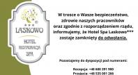2020-03-16 - Hotel Spa Laskowo*** zamknięty do odwołania