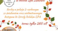 2018-09-13 - Jesienna promocja w Hotelu Spa Laskowo!