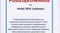 2015-06-29 - Podziękowanie dla Hotelu Spa LASKOWO.