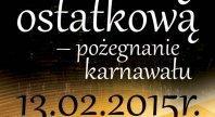 2015-01-23 - Pożegnanie karnawału w Hotelu Spa LASKOWO!