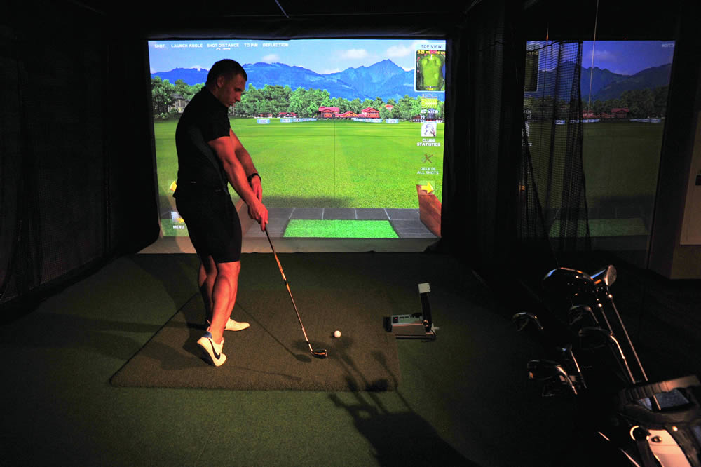 Interaktywny symulator golfa