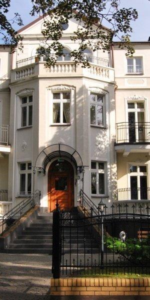 Hotel Maxymilian w Kołobrzegu - widok z zewnątrz