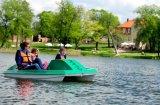 Pomysł na weekend w Wielkopolsce - rowerki wodne, Olandia
