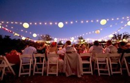 Wedding and outdoor ceremony
