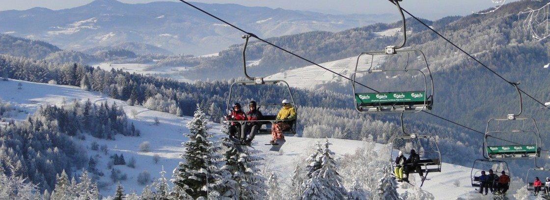Wyjazd na narty z rodziną