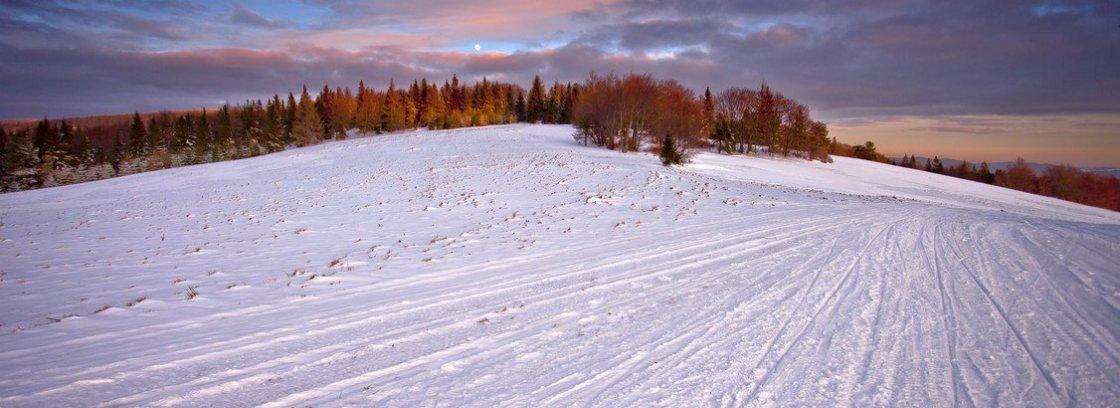 dwie doliny zima