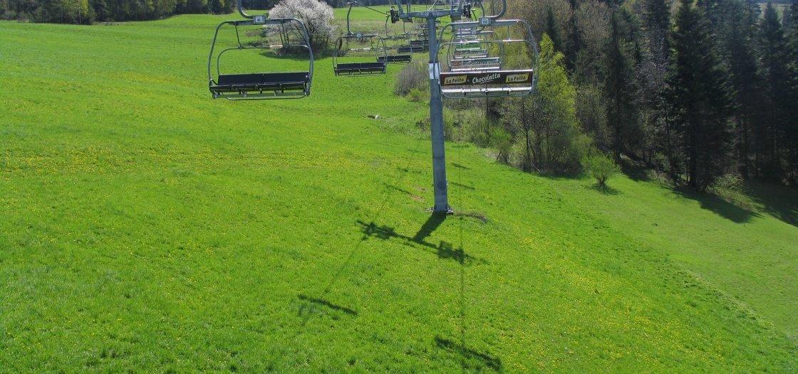 Wyciąg narciarski Wierchomla Dwie Doliny