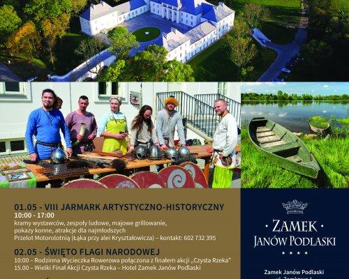 Majówka 2019 w Zamku Janów Podlaski