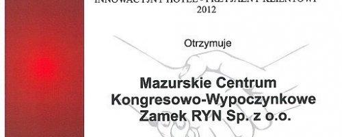 Innowacyjny Hotel 2012