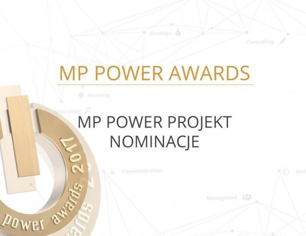 Mazurkas Catering 360° nominowany w konkursie MP Power Awards 2017