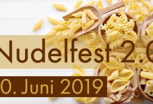 Nudelfest am 20. Juni