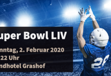 Super Bowl LIV in der Waldarbeiterbar