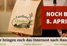 Wir bringen euch das Osternest nach Hause: Tafelspitz und Hähnchenbrust geliefert