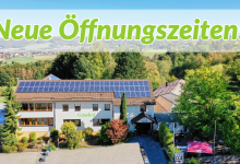 Neue Öffnungszeiten im Grashof ab September