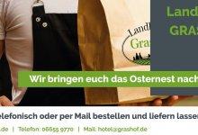 Wir liefern euch das Osternest nach Hause: Tafelspitz und Hähnchenbrust statt Küchenfrust