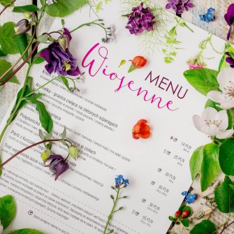 SPRING NEWS FROM PATIO RESTAURANT