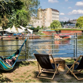 SUN, DECKCHAIRS AND RELAXATION BY THE ODER RIVER – THE WROCŁAW BEACHES INVITE YOU ALL!