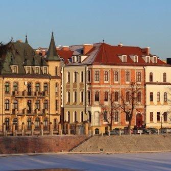 Wrocław zimową porą...
