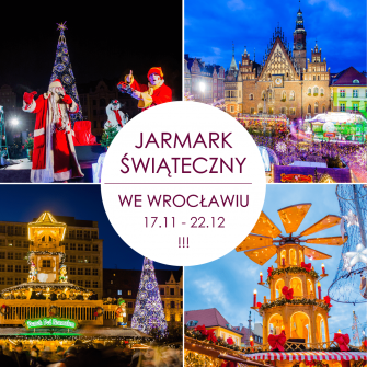 THE CHRISTMAS MARKET IN WROCŁAW HAS JUST BEGUN!