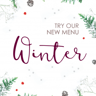 A taste of winter - our new seasonal menu
