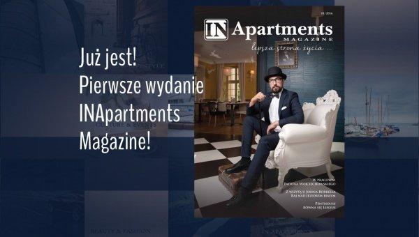 Pierwsze wydanie INAmagazine