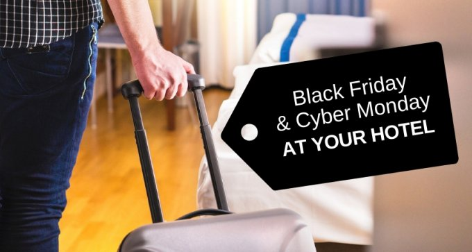 Black Friday and Cyber Monday at your hotel (23-26 November) – seize this unique opportunity for boosting sales!